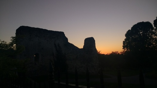 guildford castle silhouette